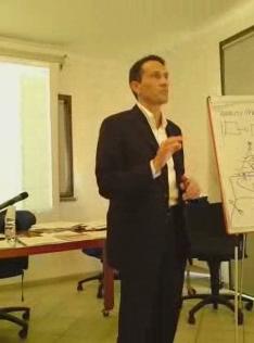 Daniele Trevisani in insegnamento