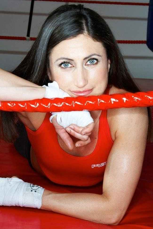Simona Galassi Boxing World Champion