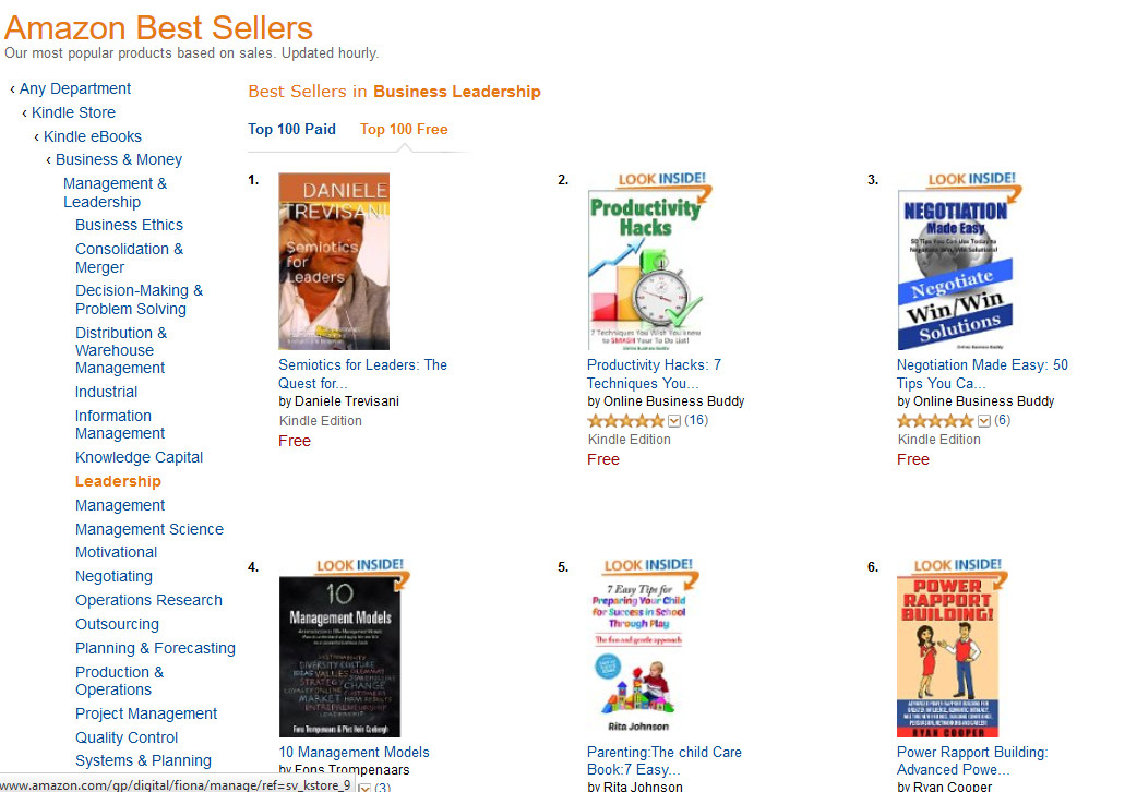 amazon best sellers in English zoom