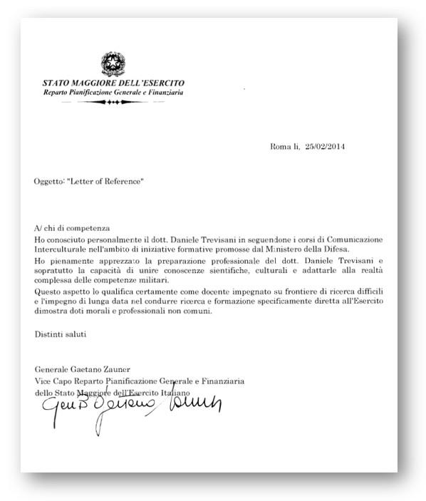 GENERALE GAETANO ZAUNER, STATO MAGGIORE ESERCITO (SME)
