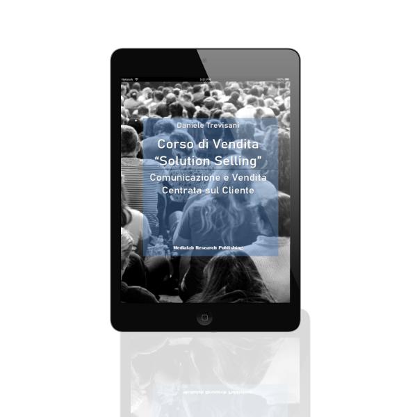 copertina corso vendita solution selling tablet