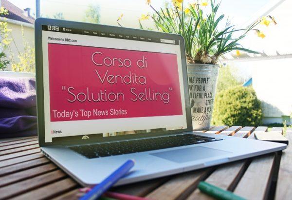 corso di vendita solution selling pc