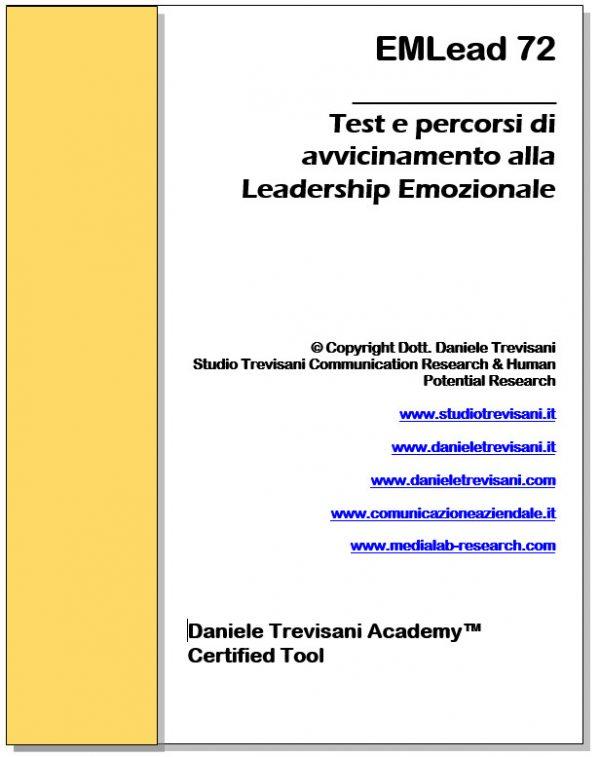 test di leadership emozionale EMLead72